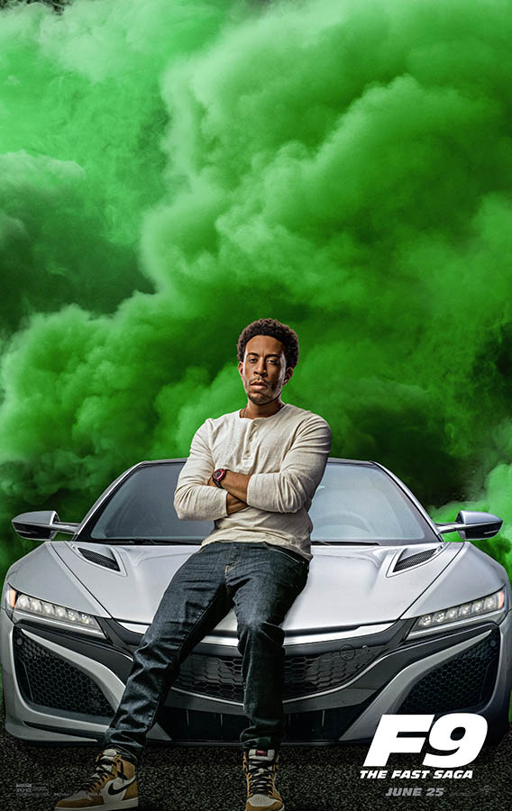 Fast & Furious 9 : affiche personnage Ludacris
