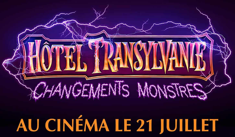 Hôtel Transylvanie 4 changements monstres, logo