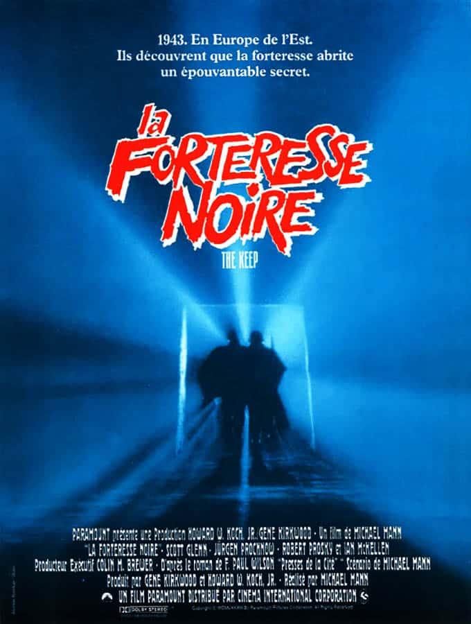 La forteresse noire (the keep), affiche du film de Michael Mann (1984)