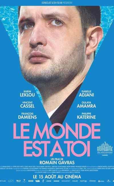 Affiche personnage Le monde est à toi avec Karim Leklou