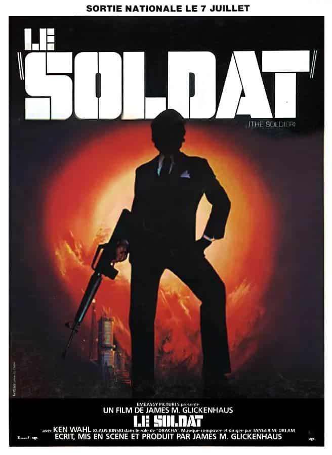 Le soldat, affiche du film de James Glickenhaus