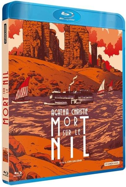 Mort sur le Nil, artcover du blu-ray StudioCanal 2020