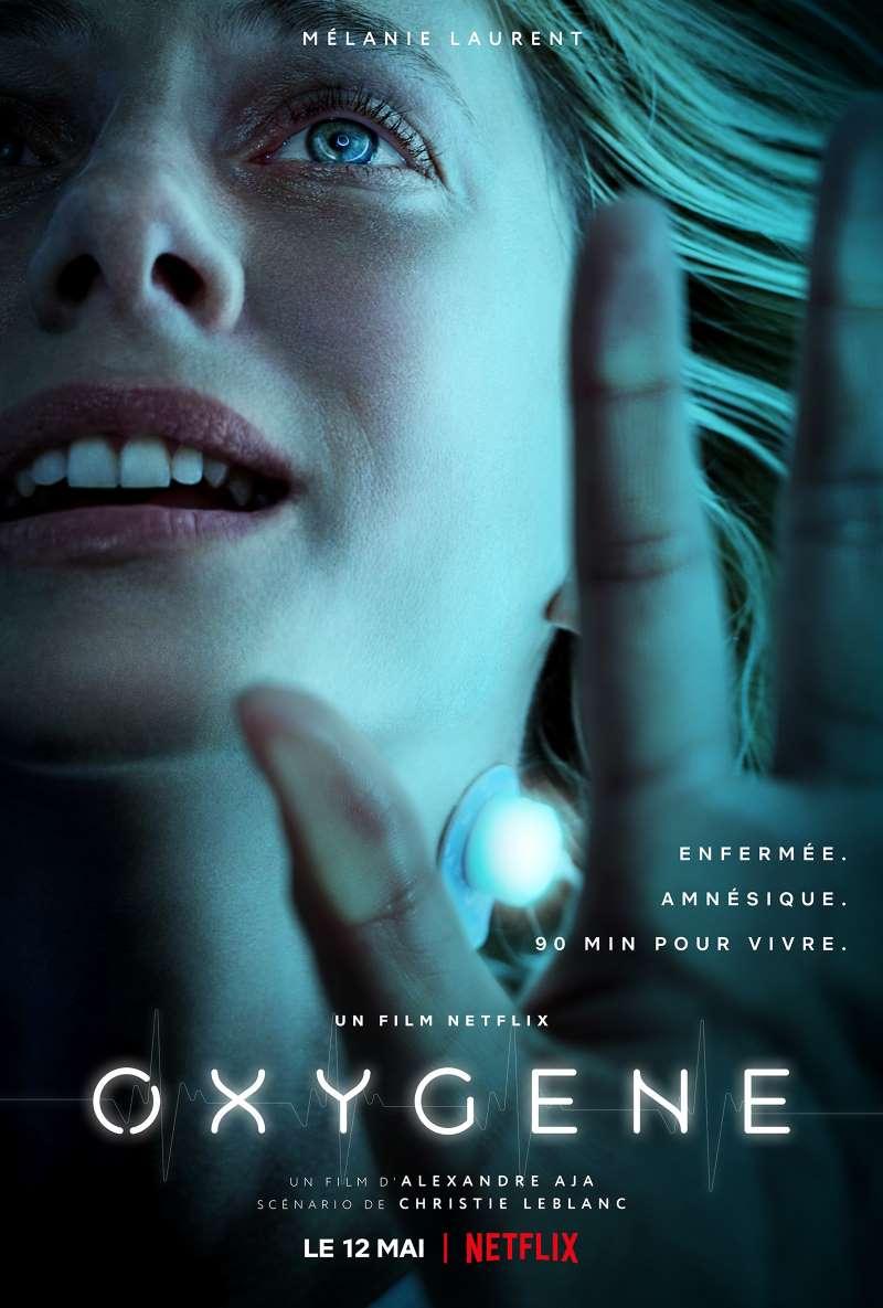 Oxygène, affiche Netflix