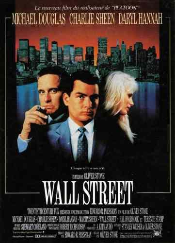 Wall Street d'Olivier Stone, affiche du film