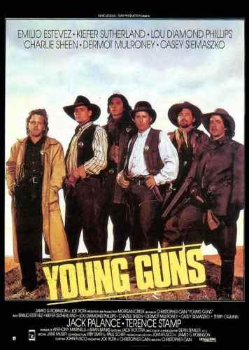 Young Guns, affiche du film de Christopher Cain