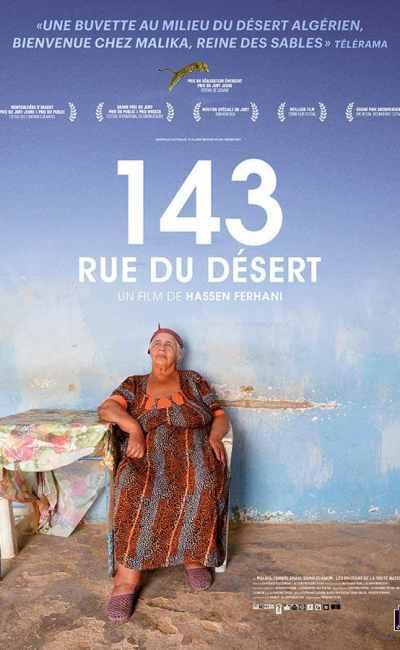 143 rue du désert, affiche du film de Hassen Ferhani