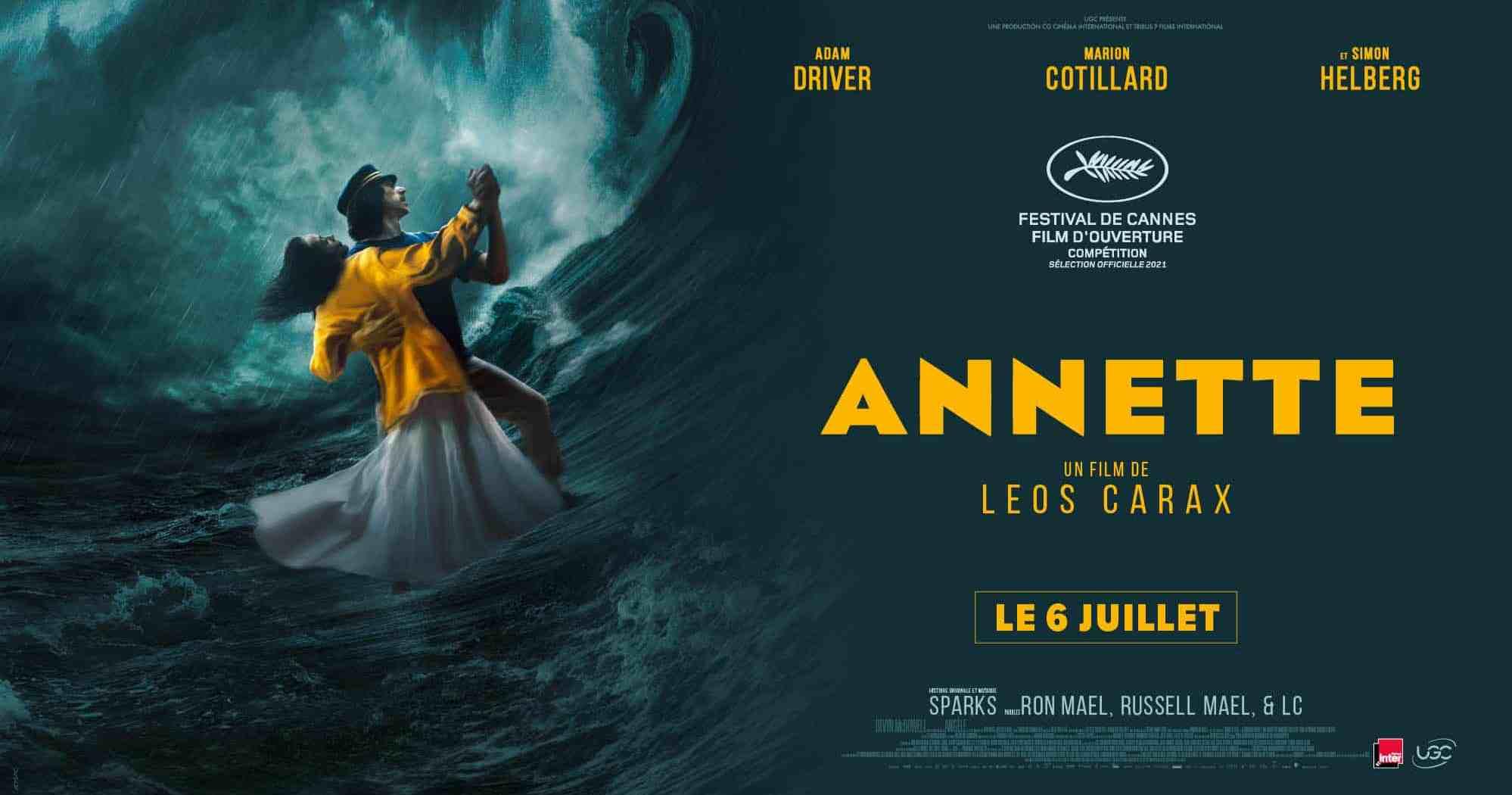 Bande-annonce d'Annette de Leos Carax (Cannes 2021)