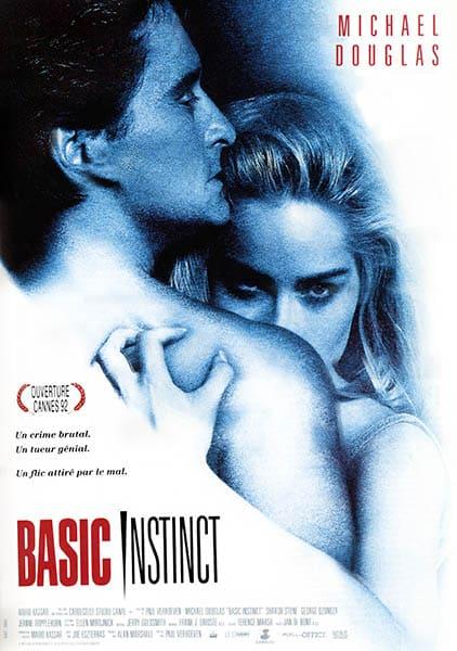 Affiche originale de Basic Instinct 1992