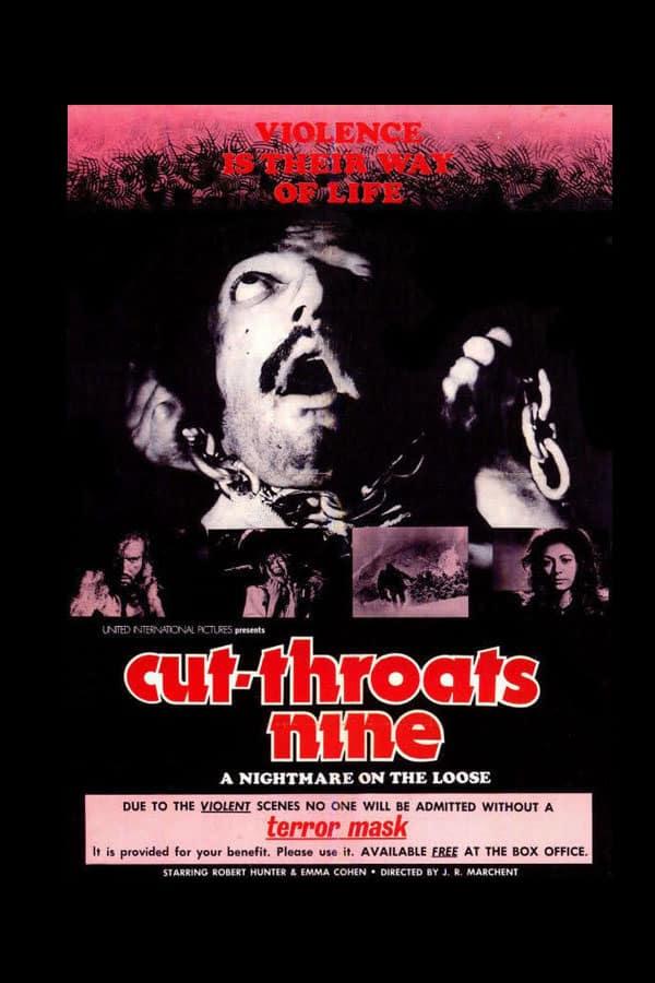 Cut-Throats Nine affiche américaine