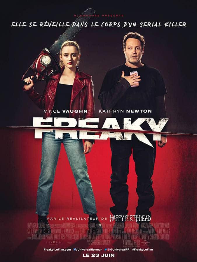 Freaky, affiche du film de Christopher Landon (Juin 2021)