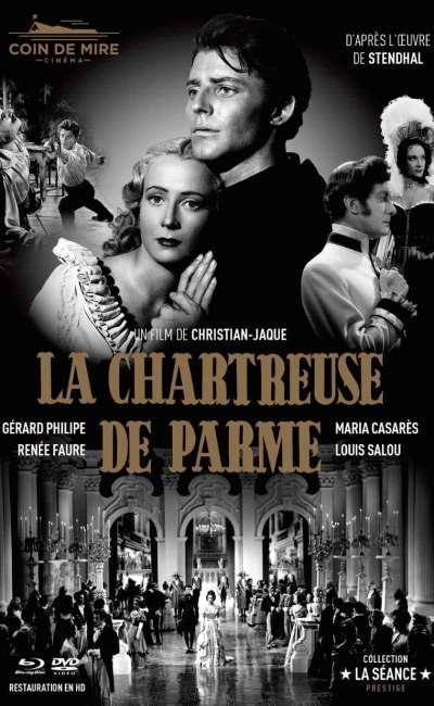 La Chartreuse de Parme, jaquette Mediabook