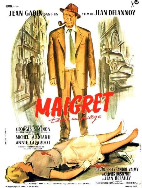 Maigret tend un piège, l'affiche