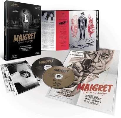 Maigret tend un piège, détails du Mediabook