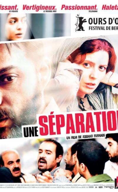 Affiche française d'Une séparation d'Asghar Farhadi