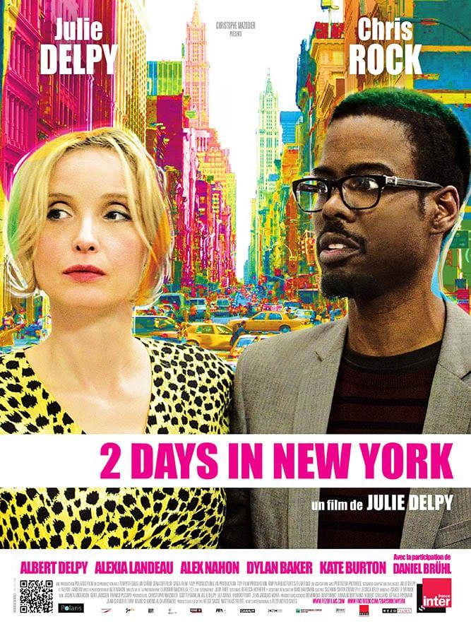 2 Days in New York, affiche du film de Julie Delpy