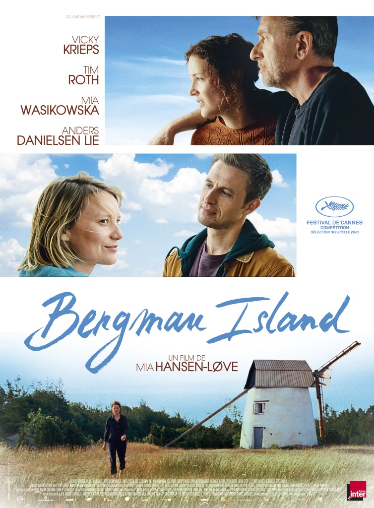 Bergman Island de Mia Hansen-Løve, affiche