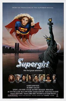 Affiche américaine de Supergirl
