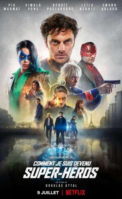 Comment je suis devenu super-héros, affiche Netflix