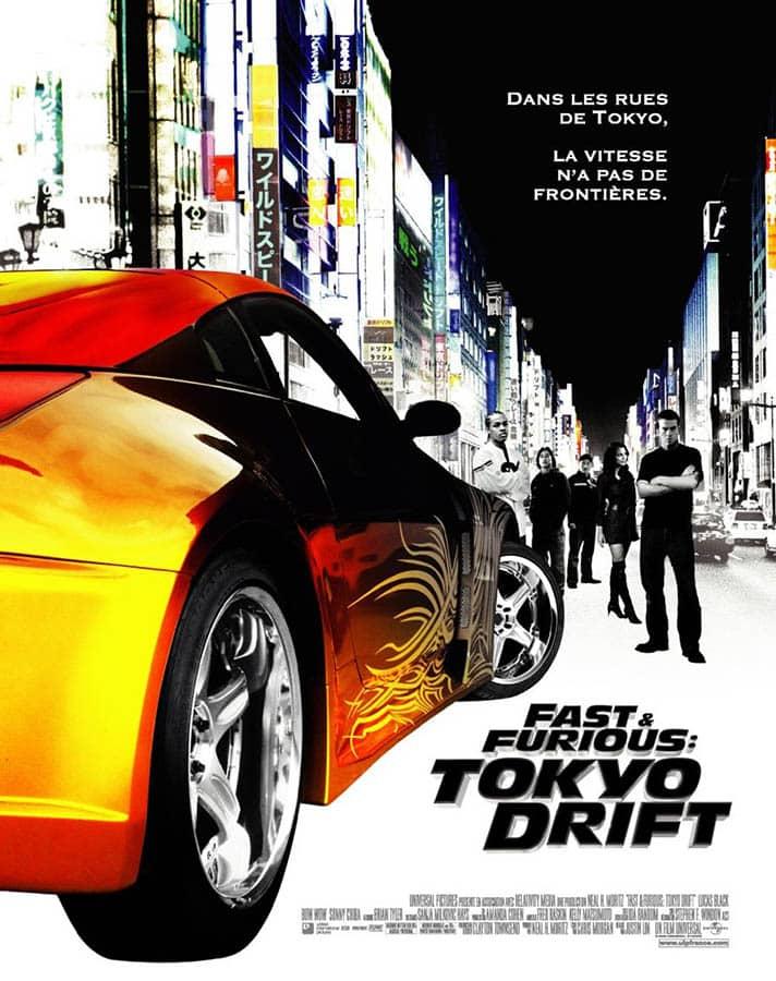 Fast & Purious: Tokyo Drift, affiche