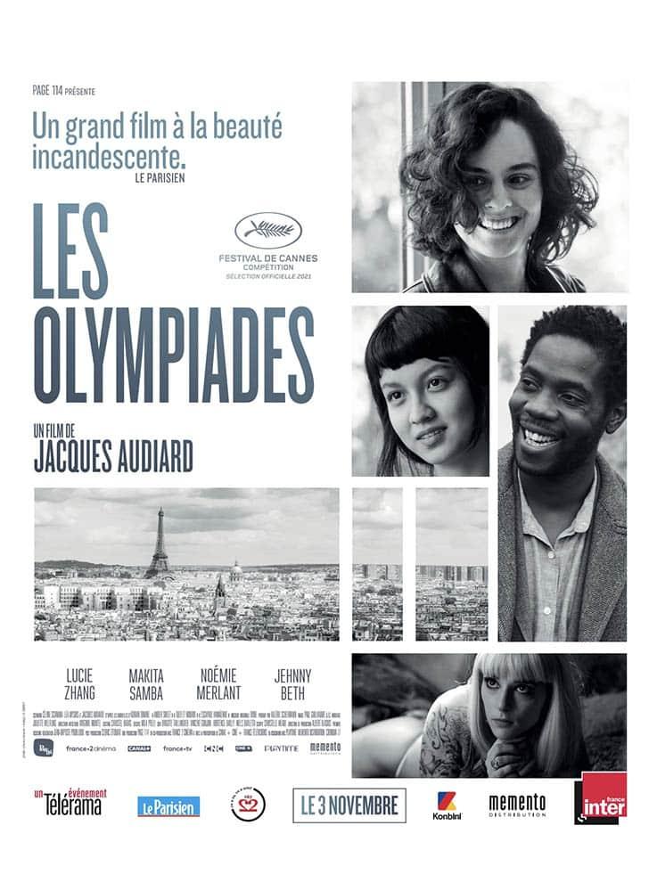Les Olympiades, affiche du film