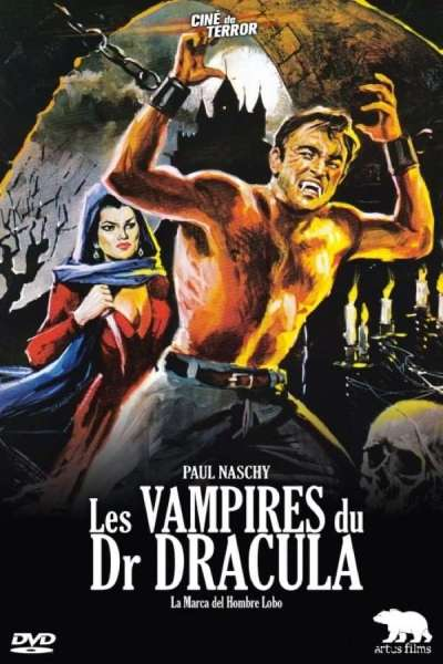 Les vampires du Dr. Dracula, la jaquette DVD