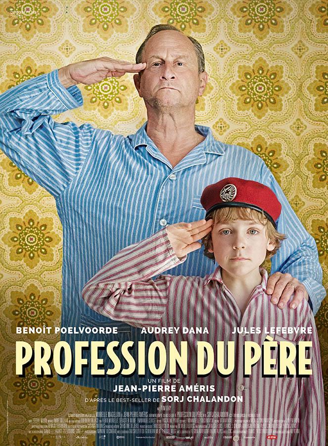 Profession du père, affiche du film de Jean-Pierre Améris