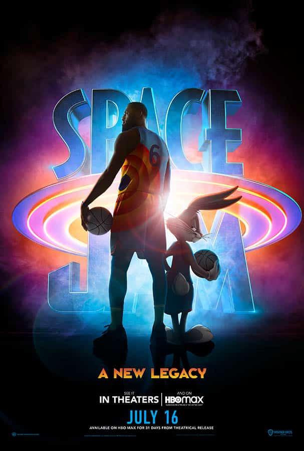 Affiche américaine de Space Jam 2