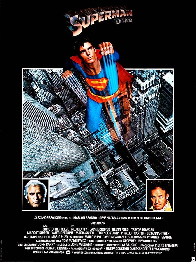 Superman le film, affiche du film