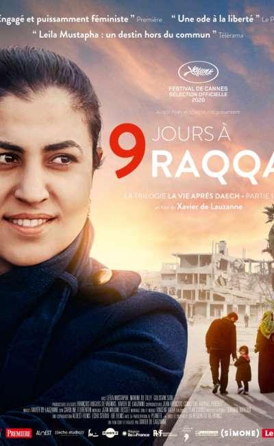 9 jours à Raqqa, l'affiche