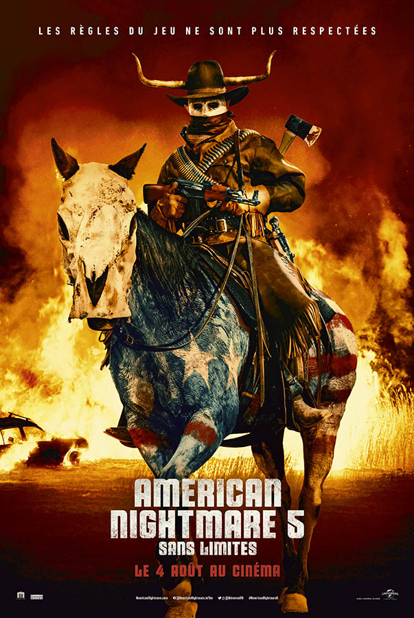 American Nightmare 5 Sans Limites (Forever Purge), affiche
