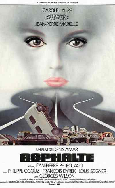 Asphalte de Denis Amar, affiche de Landi