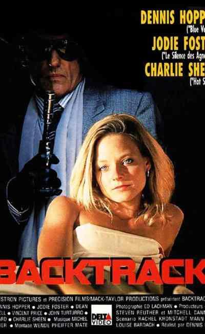 Backtrack en VHS chez Delta Vidéo, jaquette (1992)