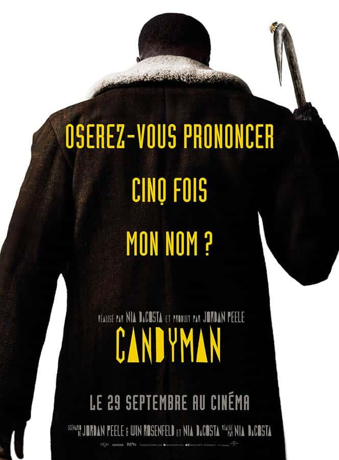 Candyman, affiche du film 2021