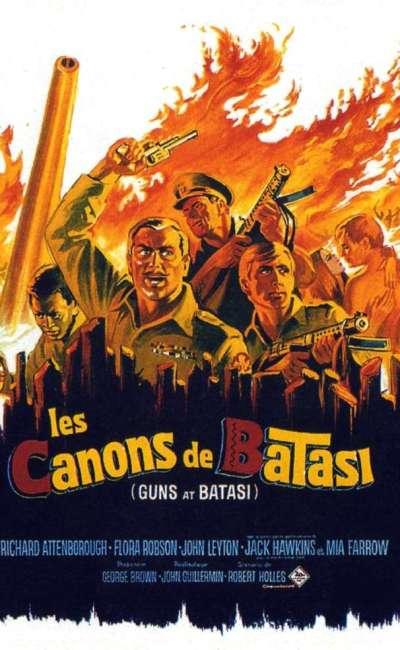 Les canons de Batasi, l'affiche