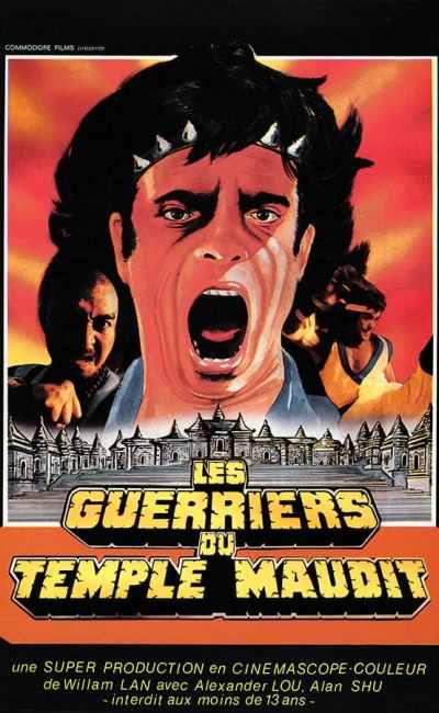Les guerriers du temple maudit, affiche (1985)