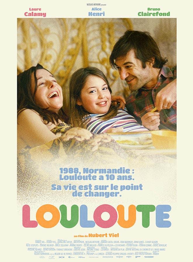 Affiche de Louloute d'Hubert Viel (2021)