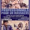 Professionnels pour un massacre, affiche