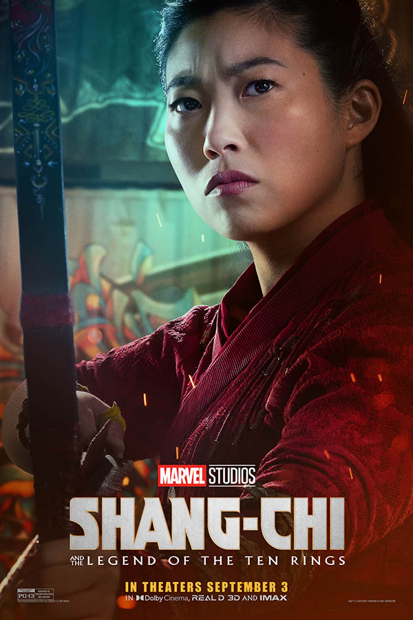 Affiche personnage Awkwafina (Shang-Chi)
