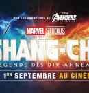 Démarrages Paris 14h (01/09/2021) : Shang-Chi fait foule dans les salles