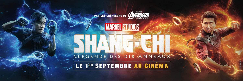 Bandeau Facebook de Shang-Chi et la légende des dix anneaux