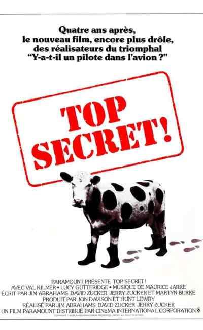 Top secret ! (1984), affiche