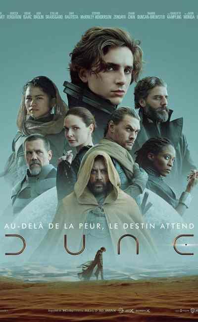 Dune, affiche du film de Denis Villeneuve (2021)