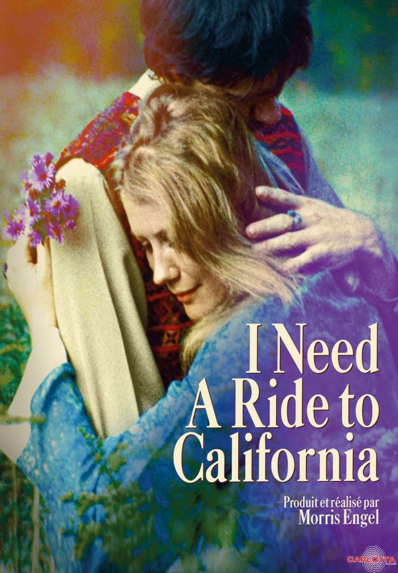 I Need a Ride to California, jaquette blu-ray