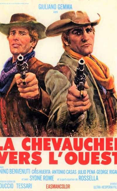 La chevauchée vers l'Ouest, l'affiche