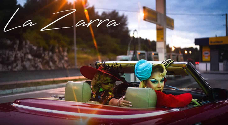 La Zarra, Tu t'en iras, clip