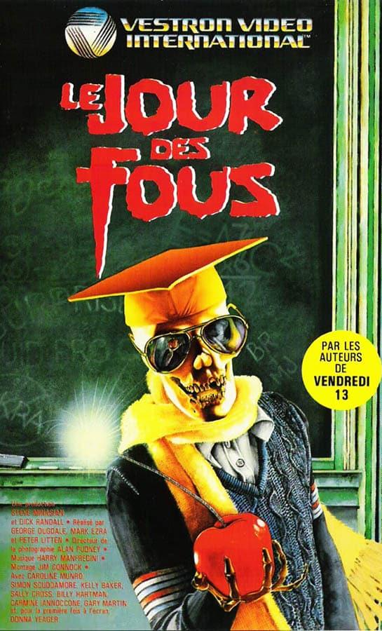 Le jour des fous, jaquette VHS Vestron