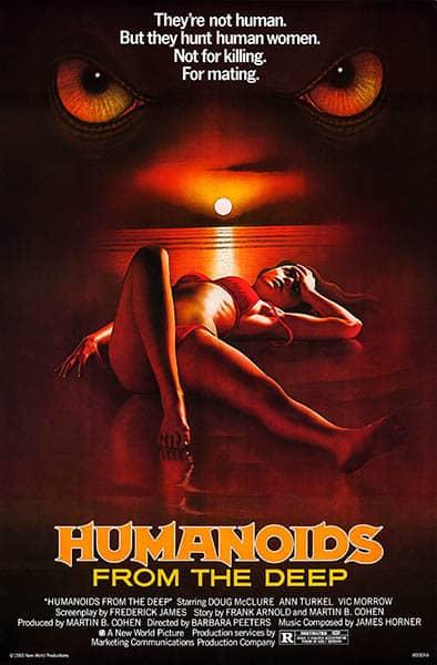 Les monstres de la mer (Humanoids From The Deep), affiche