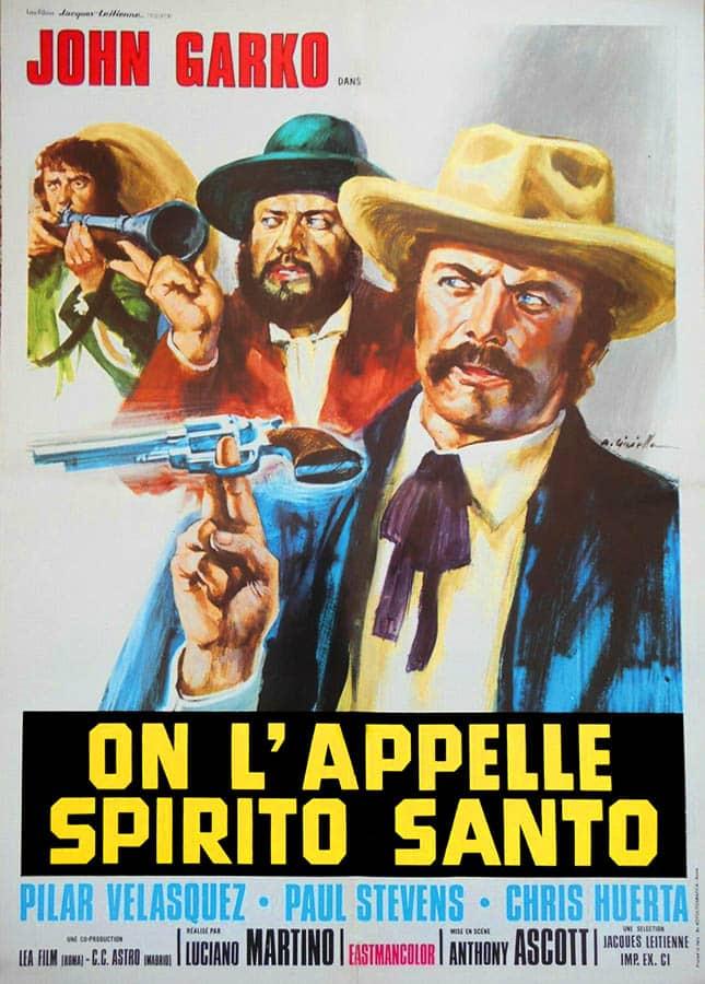 On l'appelle Spirito Santo, affiche