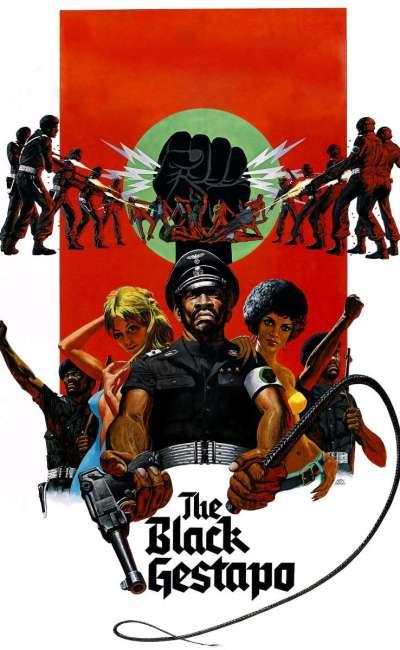 The Black gestapo, affiche VOD