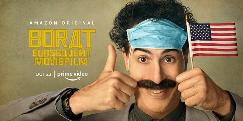 Borat Nouvelle Mission, affiche 2